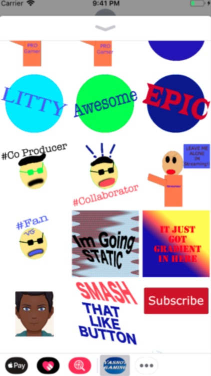 Epic Vasnot Sticker Pack