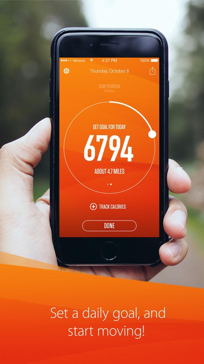 Track My Steps - Pedometer Screenshot