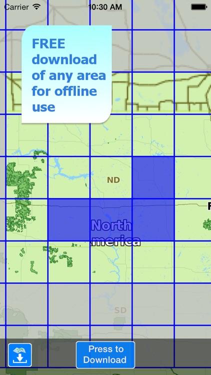Aqua Map North Dakota Lakes screenshot-4