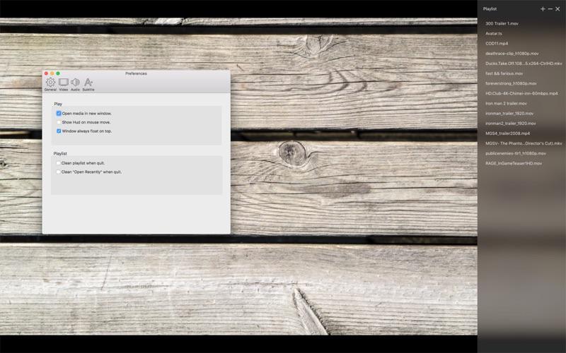 sPlayer for Mac