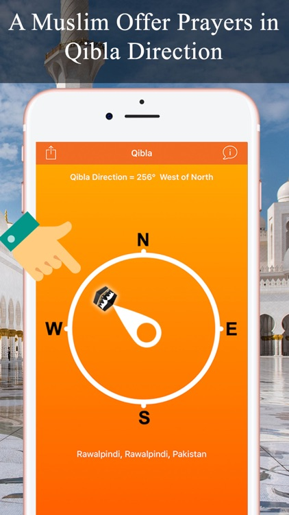 Qibla Compass & Locator Pro screenshot-1