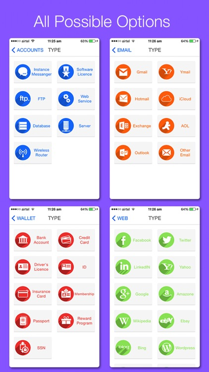 All in 1 Password Manager screenshot-3