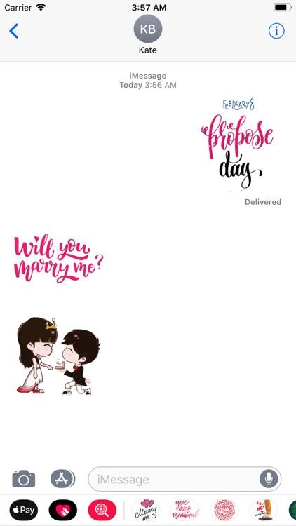 Propose Day Animated Valentine