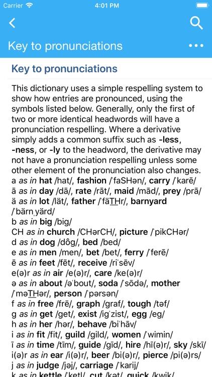 Oxford American Dictionary screenshot-4
