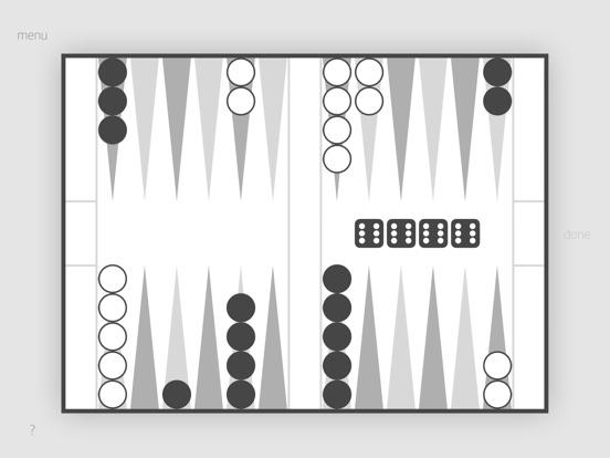 Screenshot 1 Backgammon Machine