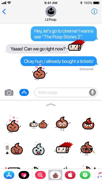 Truly Poops emoji
