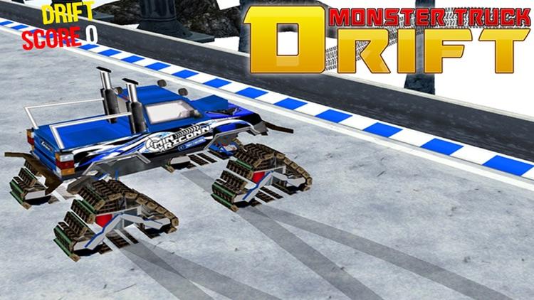 Monster Truck Drift - 3D Stunt screenshot-4