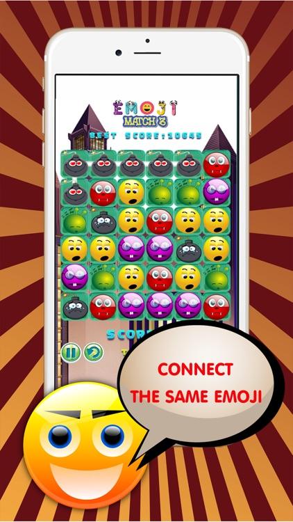 Emoji Blitz Connect Match 3 : Emoticon Line Puzzle