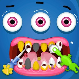 Kids Monster Dentist - Free Kids Doctor Games.