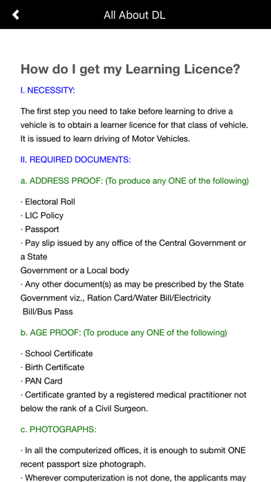 Driving Licence Test RTO India App Analyse et Critique
