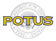 POTUS - US Presidents Stickers