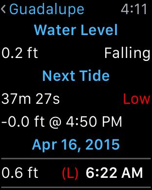 Tide Charts App Price Drops