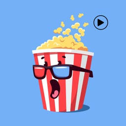 Moviegoers Stickers-Animated