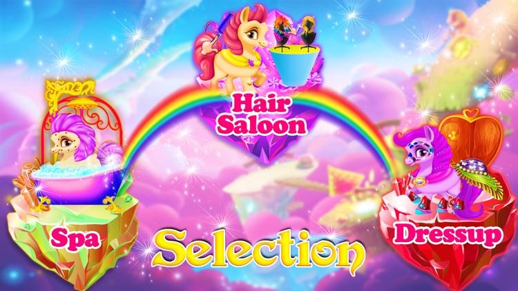 Rainbow Pony Horse Makeover screenshot-3