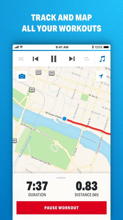 Map My Run by Under Armour screenshot-0