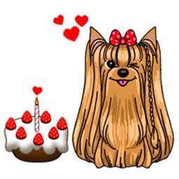 Yorkshire Terrier Dog Dogmoji