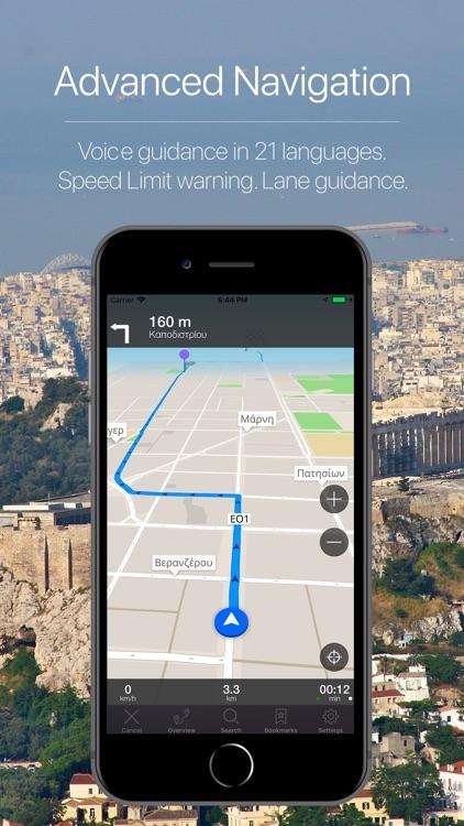 Greece Offline Navigation screenshot-3