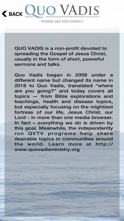 QVTV - Quo Vadis Ministry screenshot-5