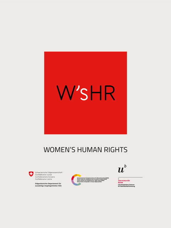 Women's Human Rights screenshot