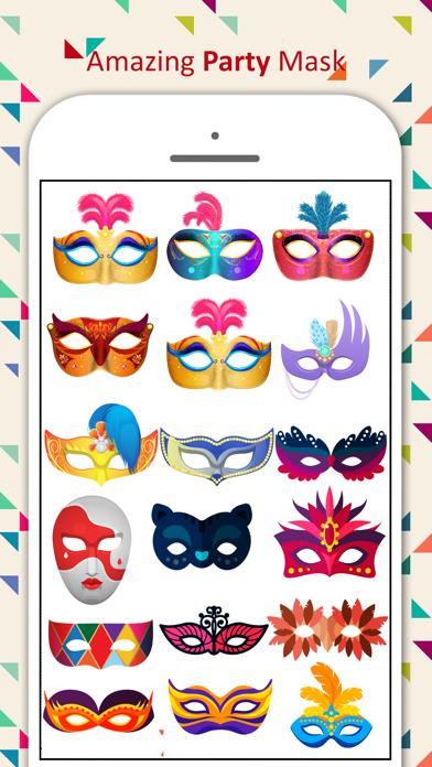 Party Mask Emoji screenshot four