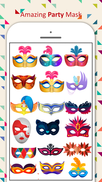 Party Mask Emoji screenshot 4