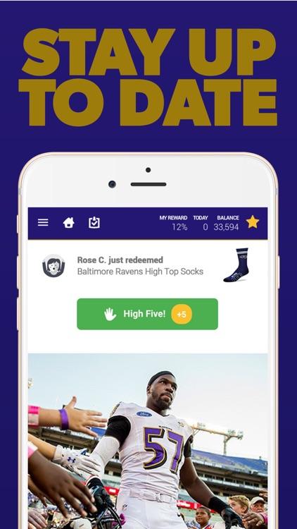 Baltimore Football Rewards screenshot-3