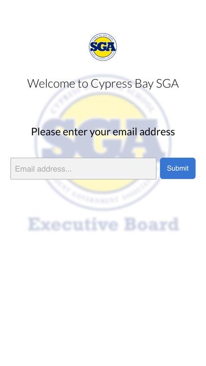 Cypress Bay SGA
