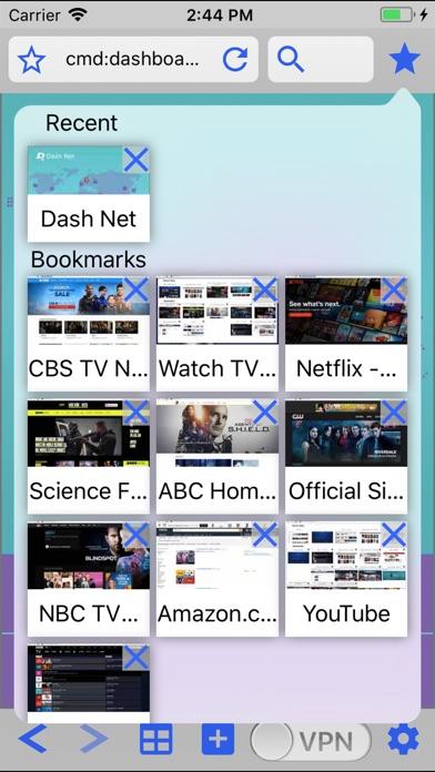 Dash Net Unblock VPN Screenshot on iOS
