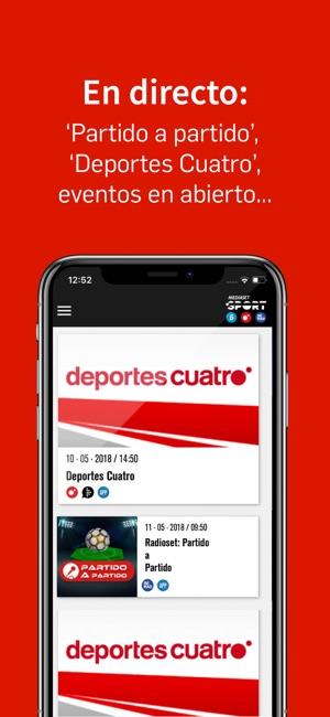 Mediaset Sport-Deportes Cuatro im App Store