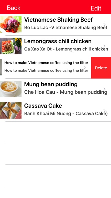 Famous Vietnamese Food Recipes screenshot-4
