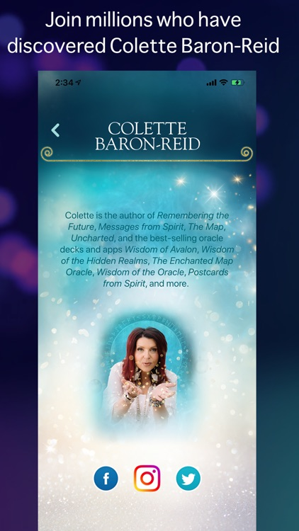 Your Daily Oracle with Colette screenshot-3