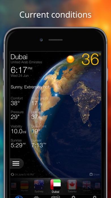 Прогноз погоды - Weather Now° Скриншоты5