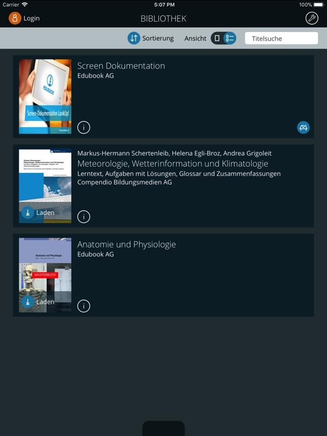 Edubase Reader im App Store