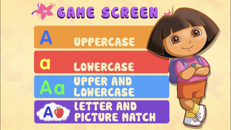 Dora ABCs Vol 1: Letters screenshot-0