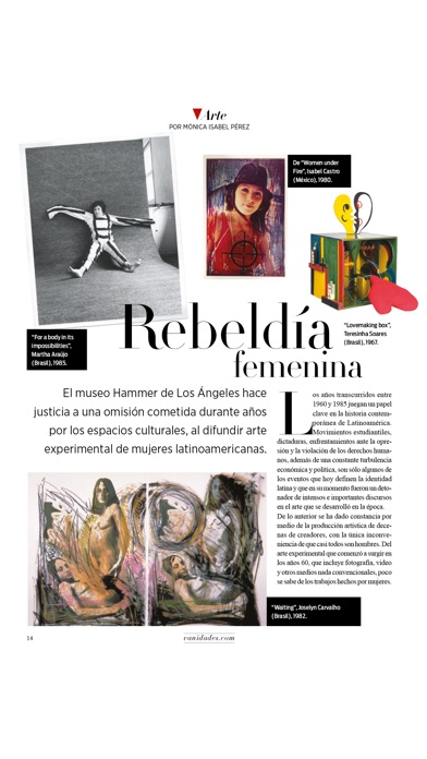 Screenshot for VANIDADES USA Revista. in Japan App Store