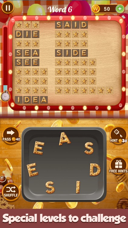 Word Sweet-Connect Words Game screenshot-4