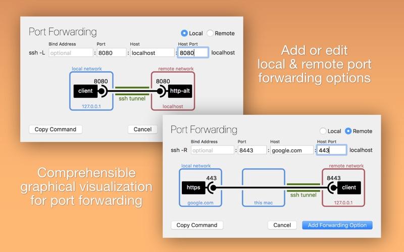 SSH Config Editor Screenshots