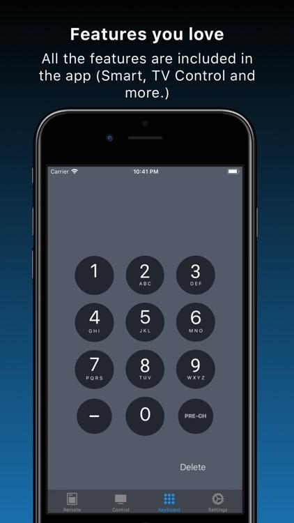 Remote TV Control for Samsung screenshot-4