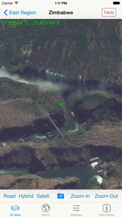 mapQWIK Af - Africa Zoomable Atlas screenshot-4