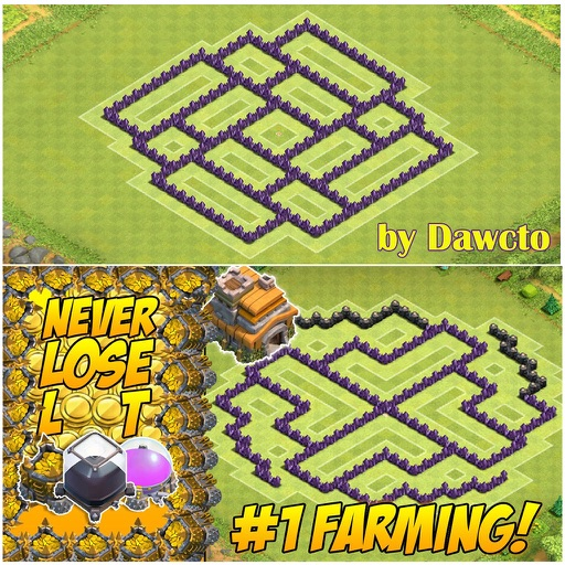 Top Maps for Clash of Clans by Lam Nguyen Clash Of Clan Map on