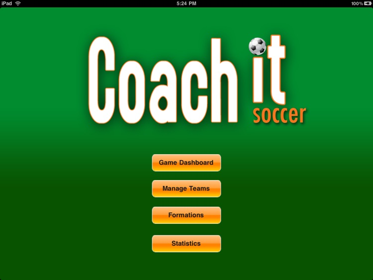 Coach it Soccer