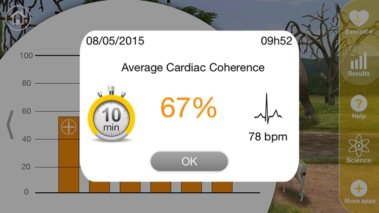 Cardiac Coherence: Safari screenshot-3
