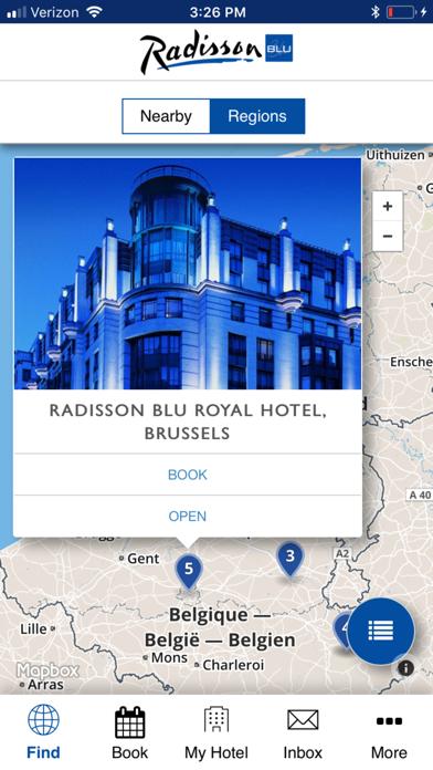 Radisson Blu One Touch screenshot two