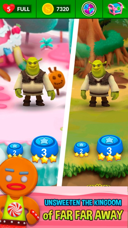 Shrek Sugar Fever screenshot-1