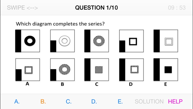 Abstract Reasoning basic test
