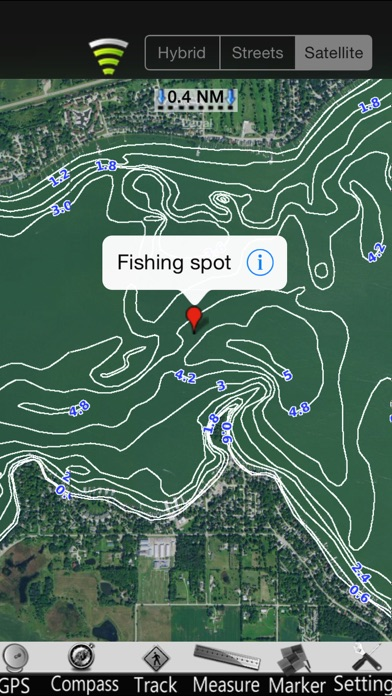 点击获取Iowa Lakes GPS Nautical Charts