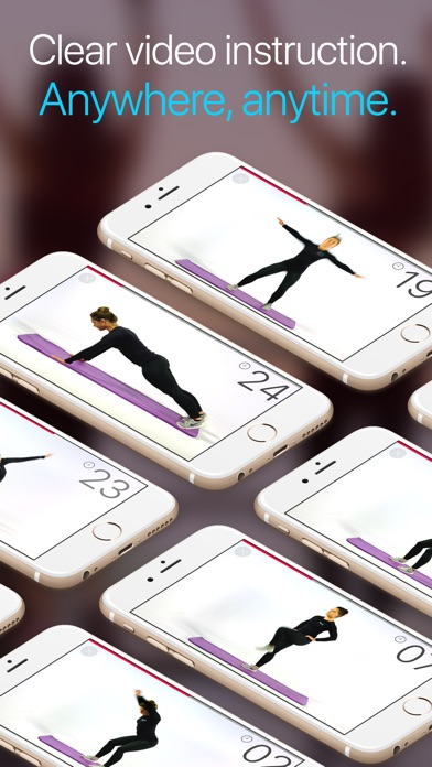 Wonder 7 Minute Workout App Screenshots