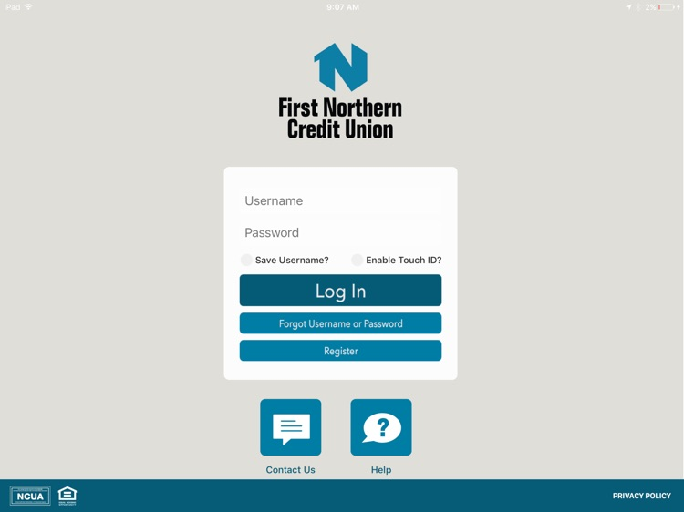 FNCU Mobile for iPad