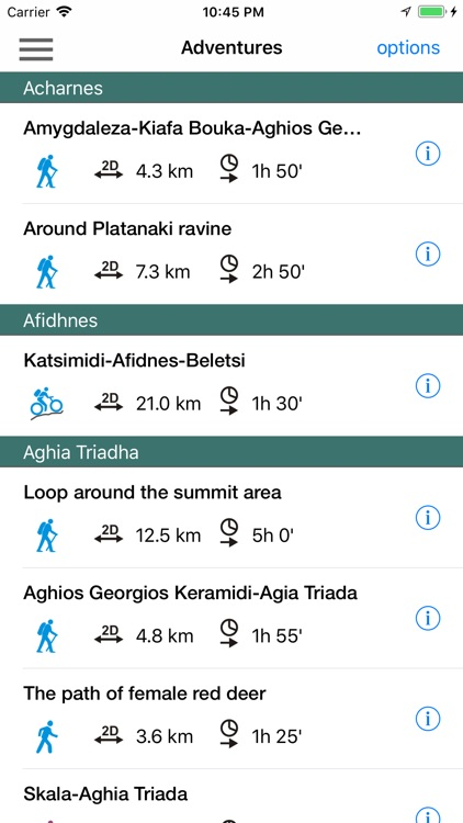 Parnitha topoguide screenshot-5