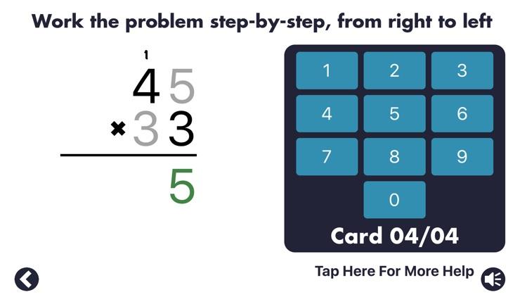 MathEdge Multiplication screenshot-0